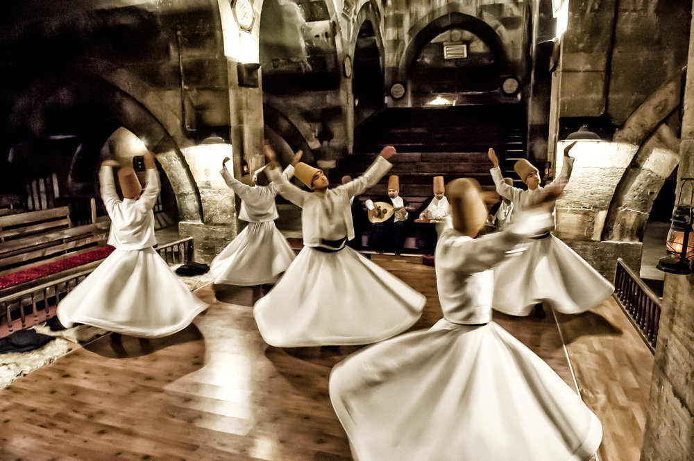 Derwisjen Dancers in Cappadocia Turkey for ANWB Reiz& magazine