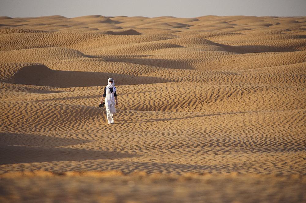 Tunisia Sahara dessert for Elegance-magazine