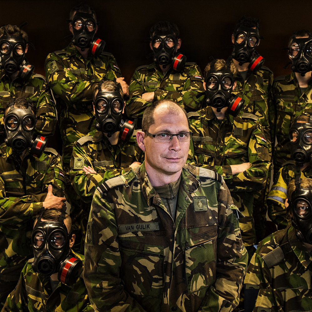 Instructor of the Dutch Military Academy