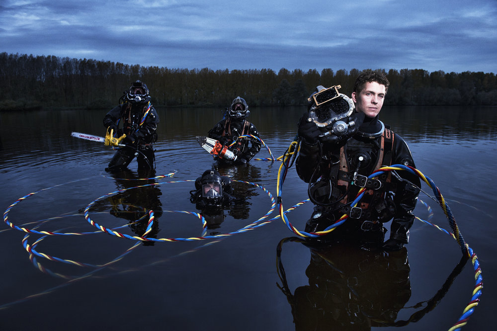 Specialists Dutch Army divers