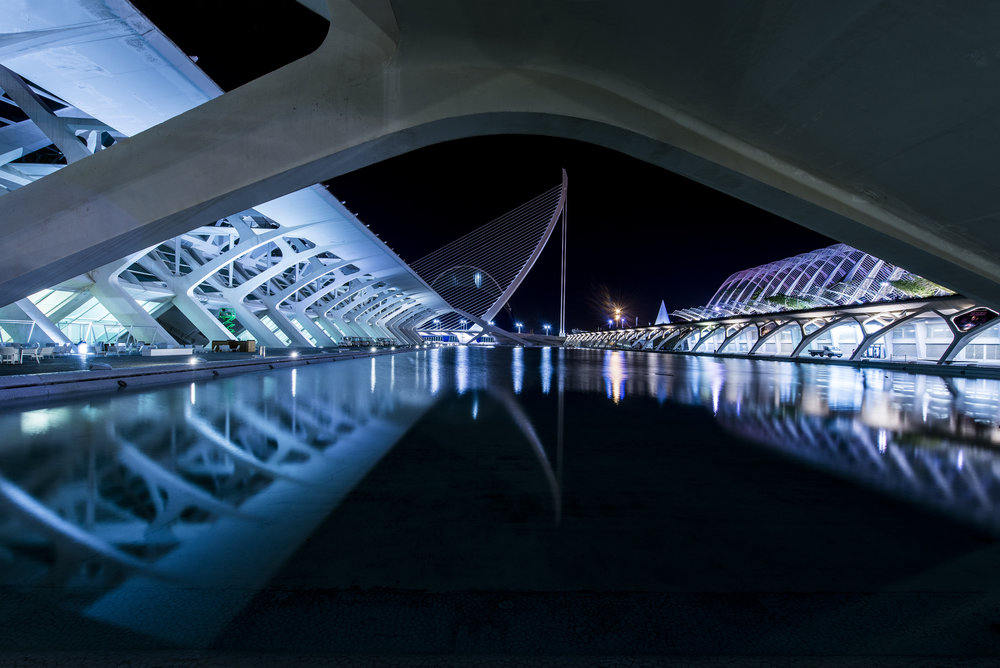 City of Arts and Sciences - Santiago Calatrava - Valencia Spain for ANWB Reiz& magazine