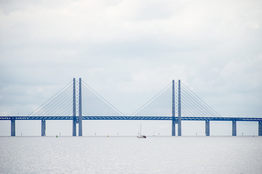 The Sont-brige between Kopenhagen-Denmark and Malmö-Sweden for ANWB Reiz& magazine