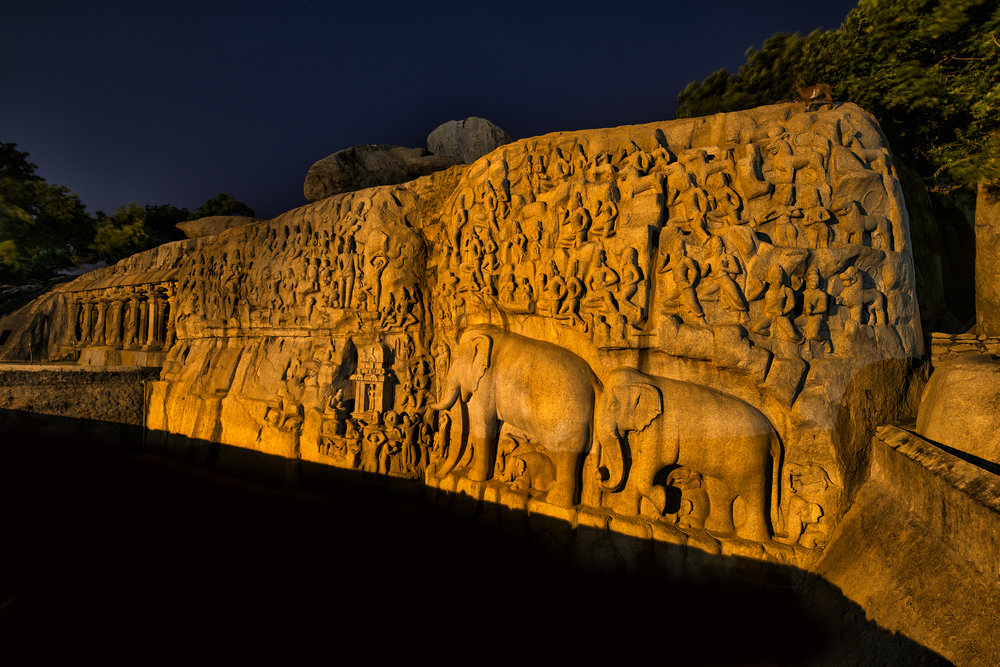 Mahabalipuram India for National Geographic