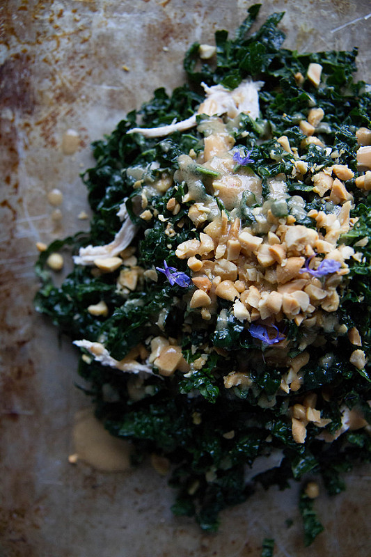 kale chicken salad