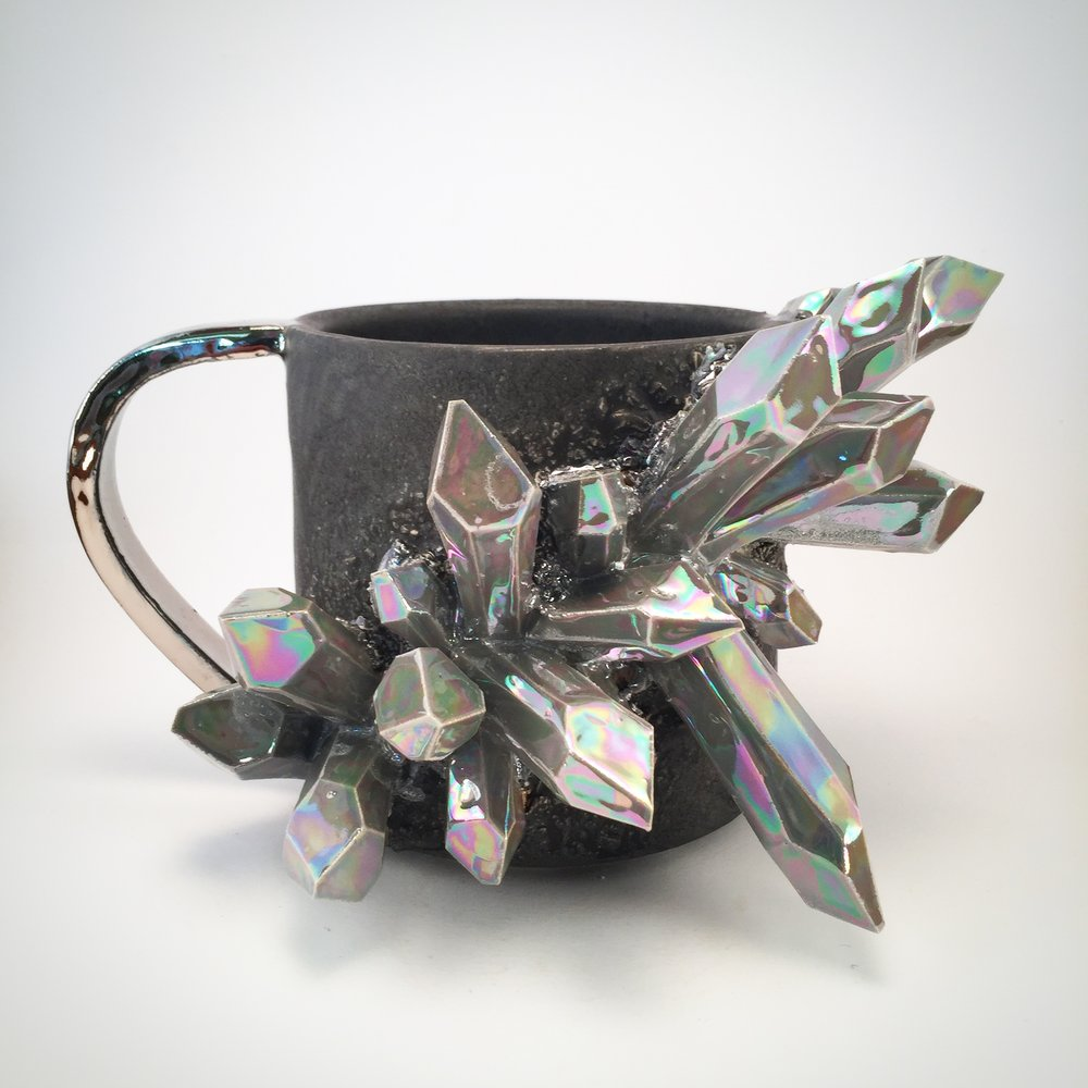 ⭐️⭐️⭐️⭐️⭐️ - this is what crystal dreams are made of. crystals have been a passion of mine since I was a little girl, and as I got older, I began to collect art...and this is BOTH. Crystal Art. Perfect for any level of crystal lover/collector. I recommend this unicorn mug, and this shop. The owner is very reliable, helpful, and kind.-Nicole