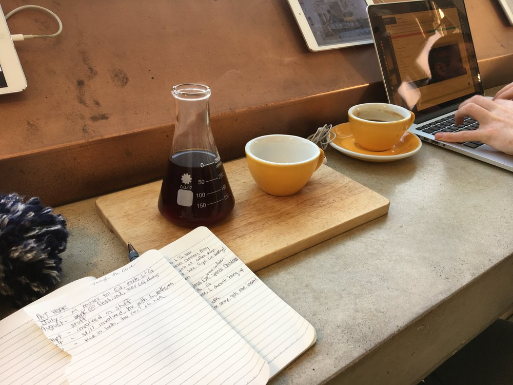 Pour over at Cairngorm Coffee, West End