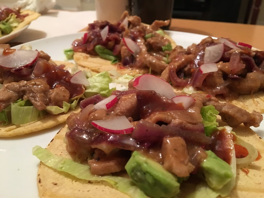 homemadeDuck Tacos - If you feel like staying in, I recommend purchasing your authentic ingredients at Lupe Pintos