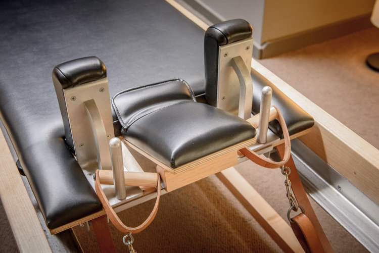 APPARATUS SESSIONS - Using the Cadillac, Reformer, and Wunda chair, clients learn to consistently initiate and maintain movement from the core powerhouse muscles.Individual Session $705 pack: $34010 pack: $660Duet Session $80 ($40/person)