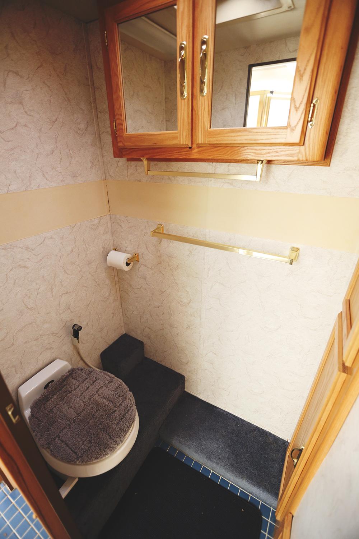 Serenica Landship: Bathroom suite // Toilet closet-room