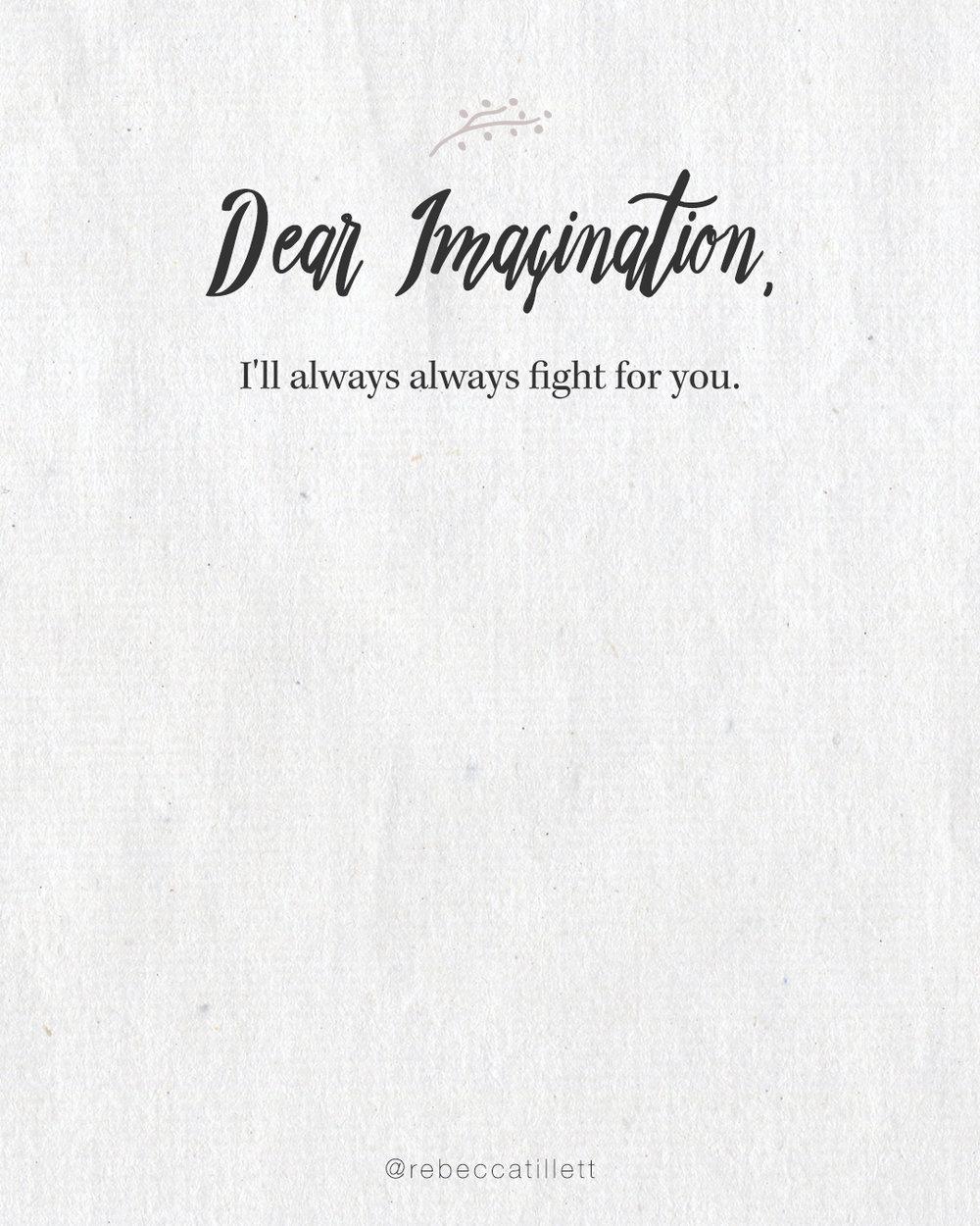 Dear Imagination