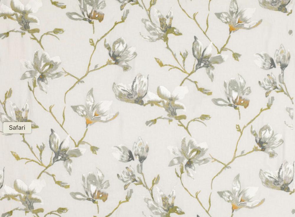 Saphira Embroidery Eucalyptus 7748/03