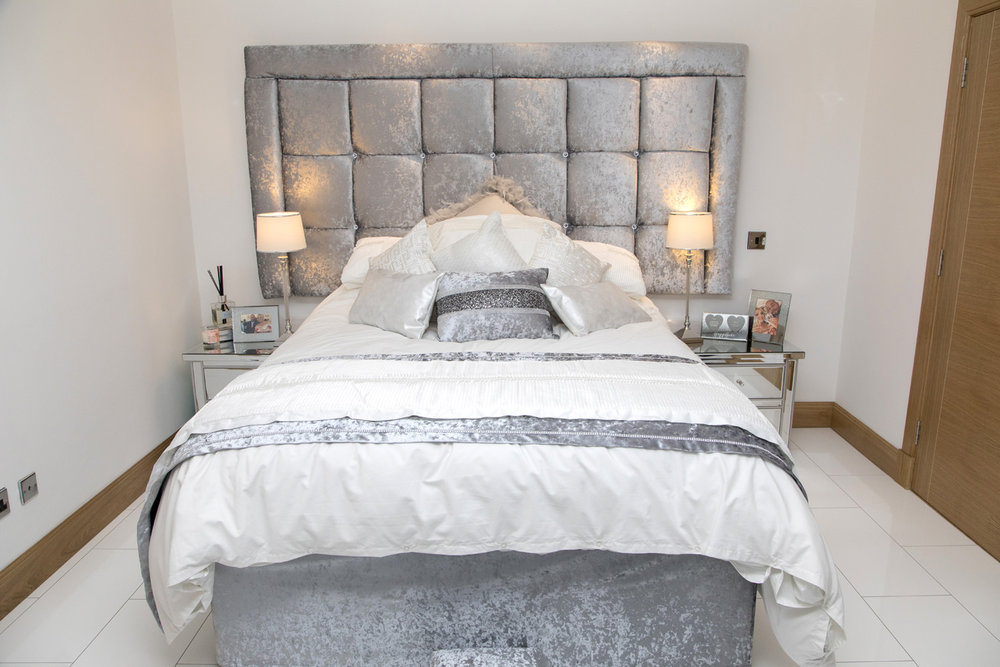 Headboard Manufactured and Designed by Interior Connections