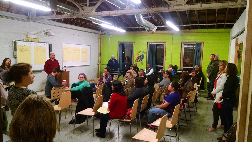 North End Residents Participating in the Cultural Plan Process