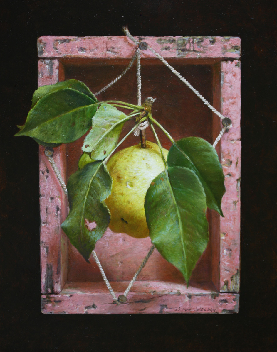 """THE LAST PEAR"" Oil   10 x 8"