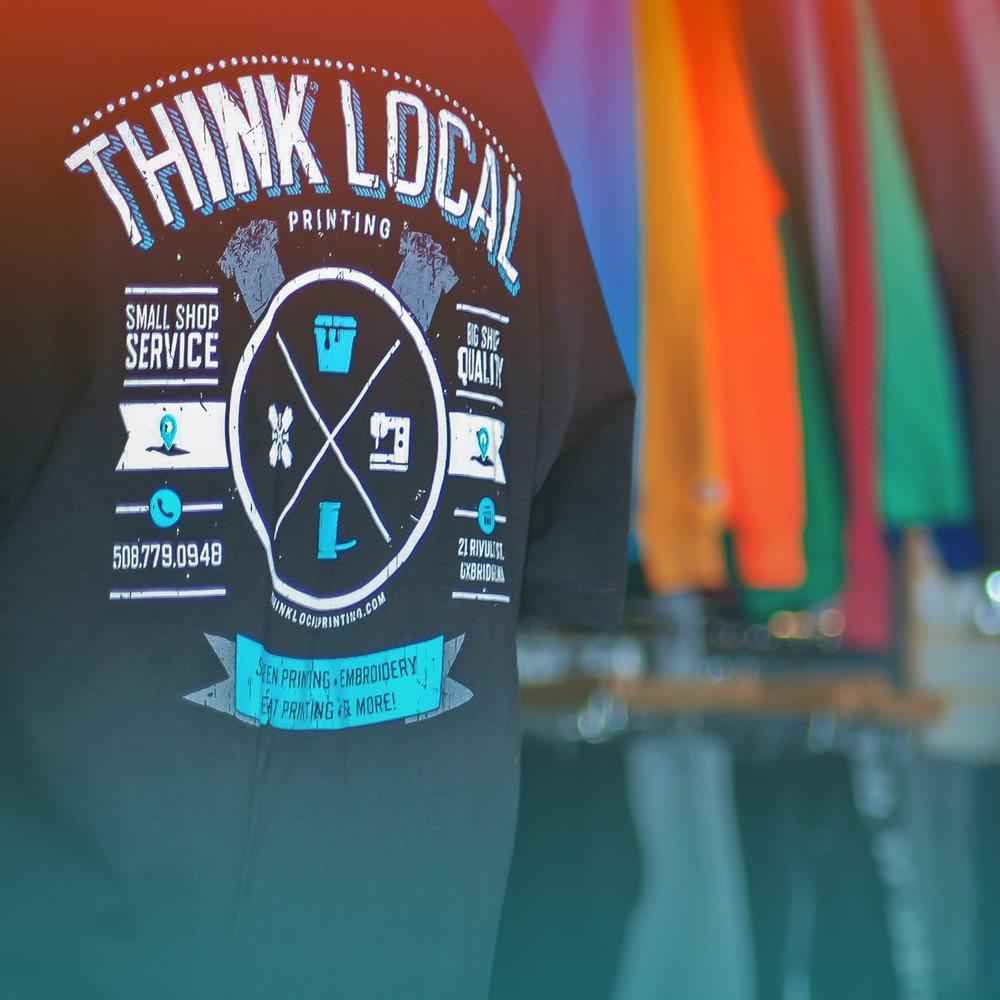 Screen Printing - The #1 choice for printed apparel.