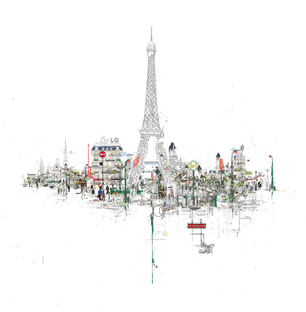 A VIEW OF PARIS 2014