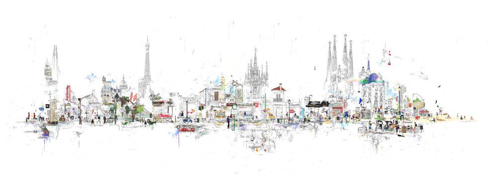 LONDON - PARIS - MILAN - BARCELONA 2017