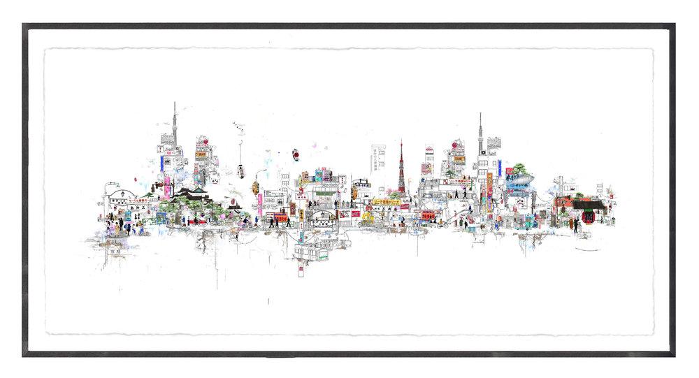 Tokyo Extended 2016 Framed