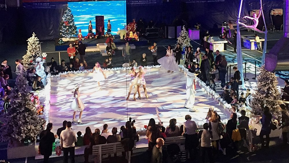 Ice Dancers for Winter Dream Festival