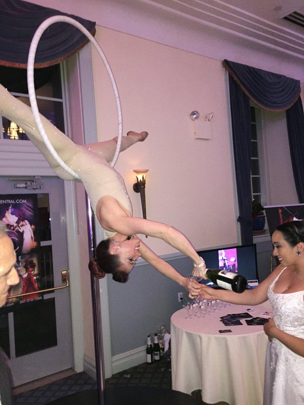 Lollipop aerial champagne sarah bride bridal affair .JPG