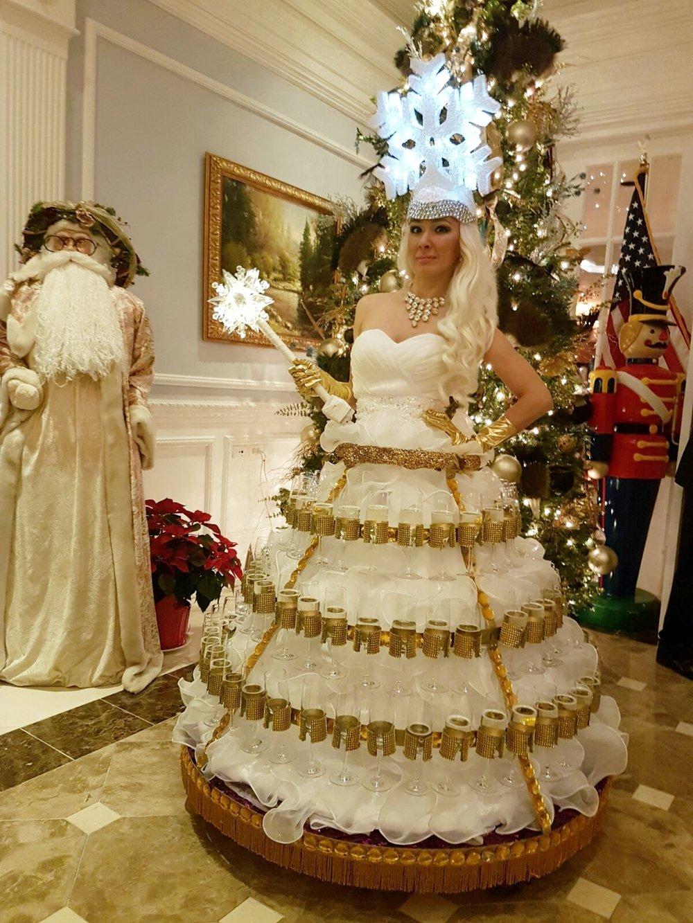 Champagne Skirt The ARC winter white snowflake 3.JPG