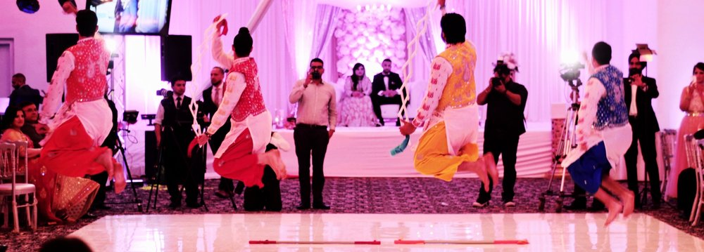 Bhangra Dance Troupe for Wedding