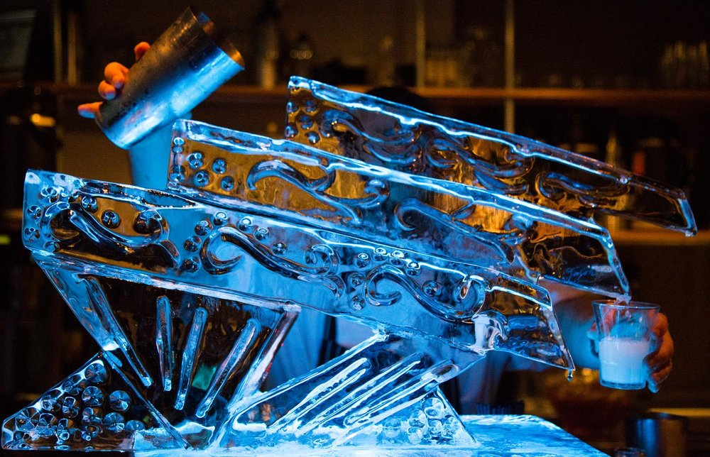 Cirque Central Winter Wonderland Ideas Ice Luge