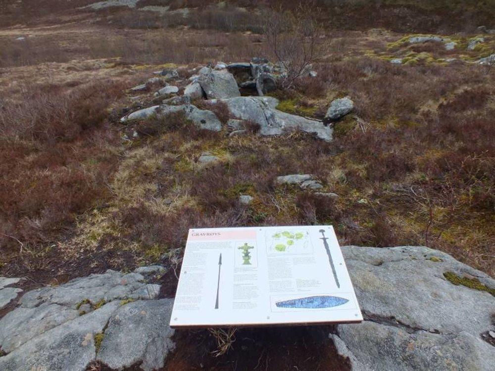 15. Steinalderstien i Åkvika  Tid: ca. 50 min t/r. Startsted: 200 meter før Åkvika, Vika.