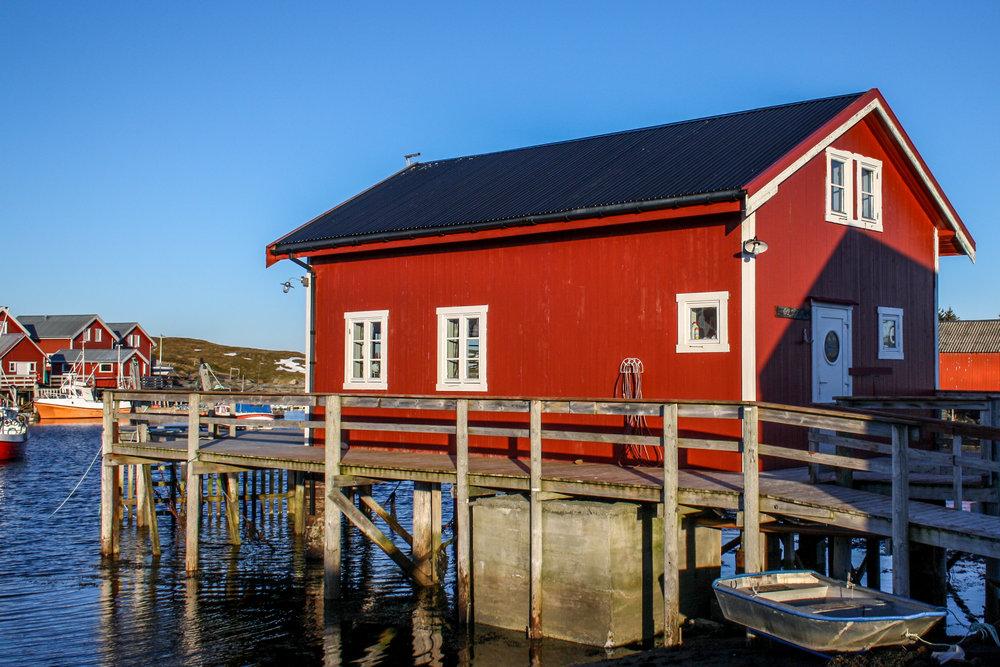 Brygga og Naustet - Nes