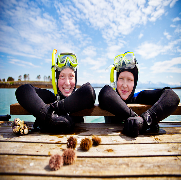 Snorkle-safari -