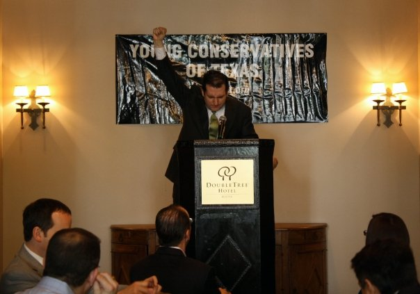 Ted Cruz at the 2009 Young Conservatives of Texas State Convention
