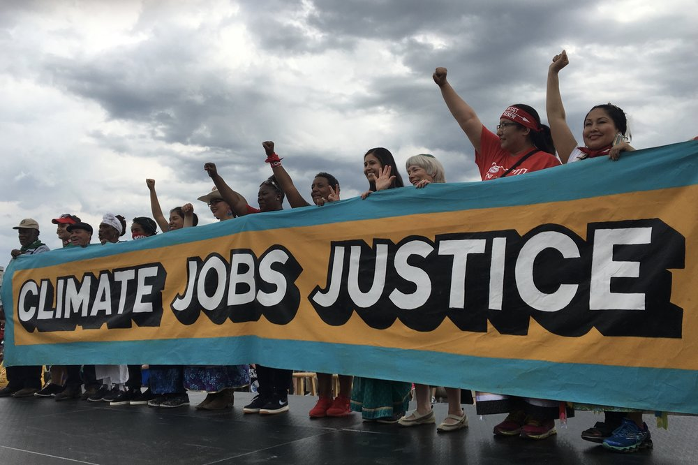 People's Climate March, Washington DC  2017 - Took up where the 2014 March in NYC left off, with an increased focused on native peoples and youth.