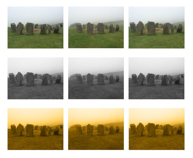 Drombeg Stone Circle 3 Lights