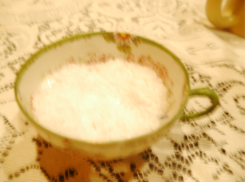 His Grandmother's Teacup