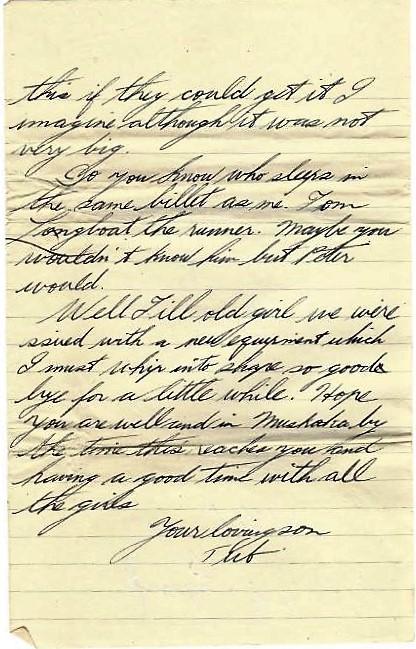 Basil Vale July 7 1918 letter - page 5.JPG