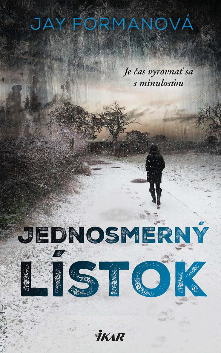 One Way Ticket book cover from the Czech edition.