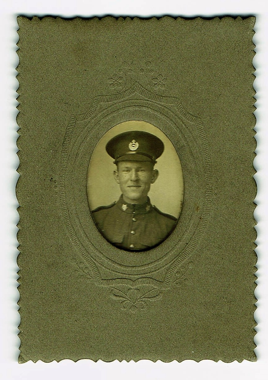 Picture of Lance Corporal Basil Vale