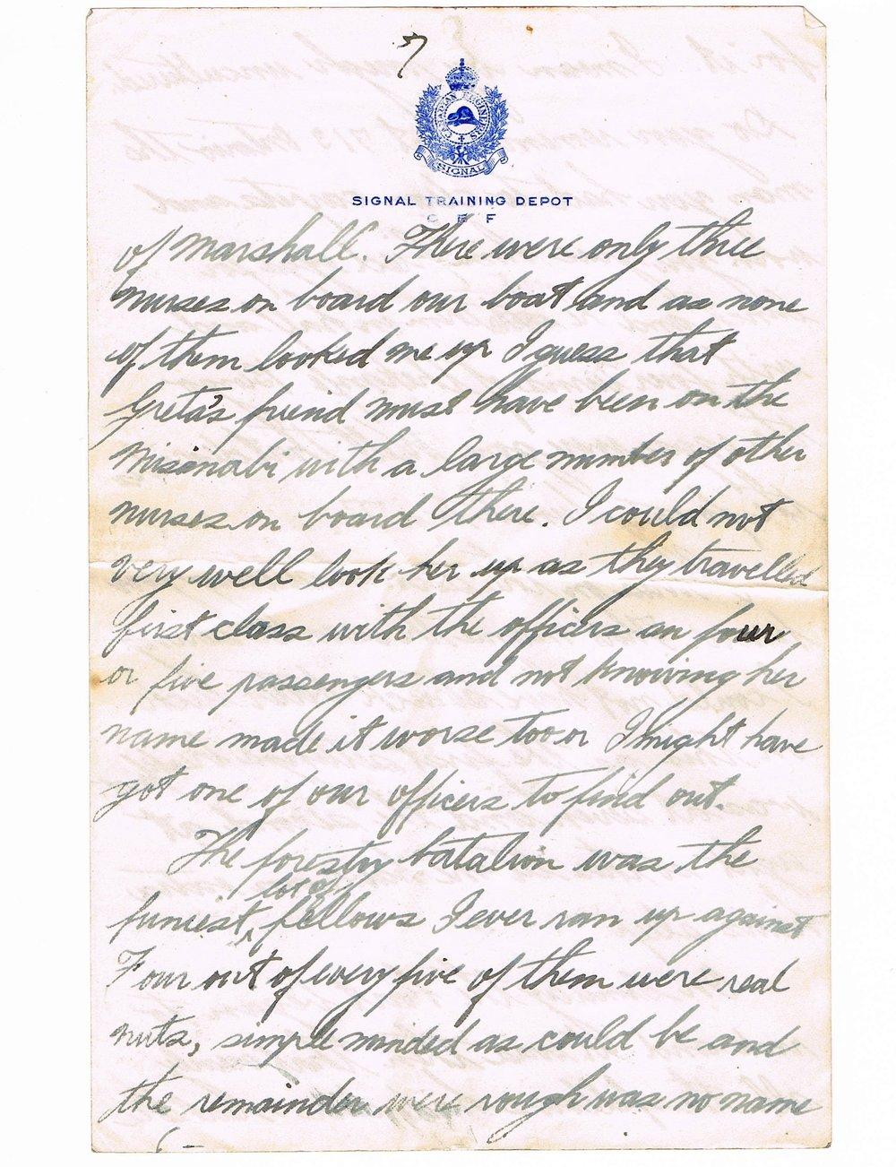 Basil Vale January 2, 1918 letter - page 7.jpg