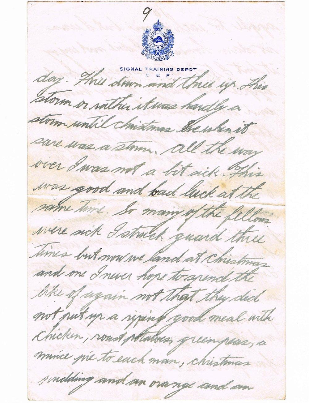 Basil Vale January 2, 1918 letter - page 9.jpg