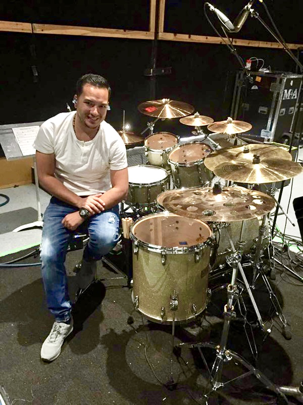 93 jessie caraballo timbalero and drummer for marc anthony
