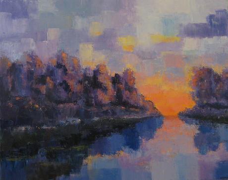 Landscape #42<br>24x30