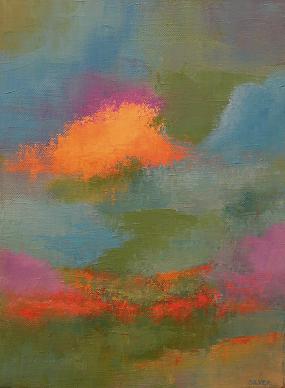 Landscape #164<br>9x12