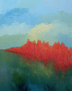 Landscape #574<br>24x30