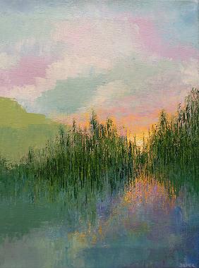 Landscape #610<br>12x16