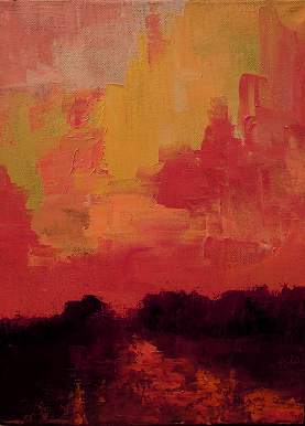 Landscape #628<br>9x12