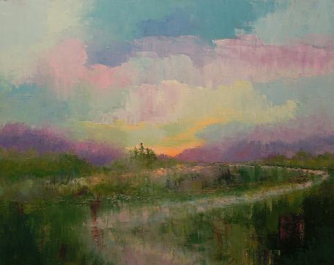 Landscape #638<br>24x30