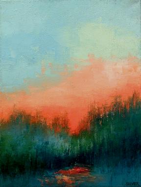 Landscape #648<br>9x12