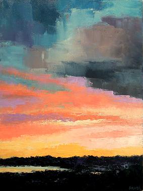 Landscape #673<br>12x16
