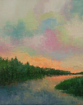 Landscape #680<br>16x20