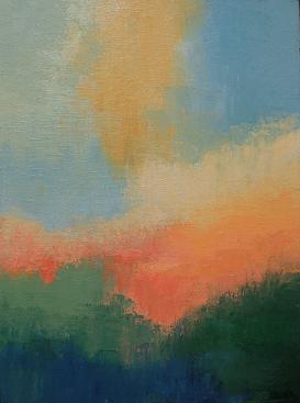 Landscape #710<br>9x12